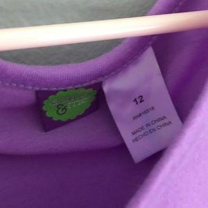 Dollie   Me Pajamas - Dollie   Me Unicorn Print Purple Nightgown Dress 5937c0c42